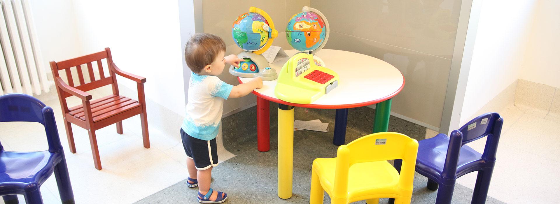 Centro di riferimento per vaccini bambini